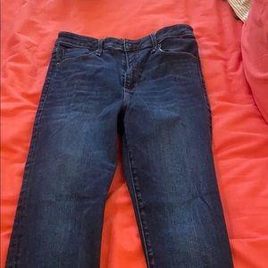 abercrombie high rise skinny jean